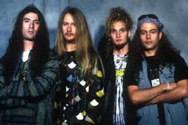 banda estilo grunge alice in chains