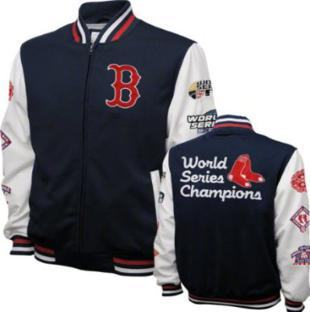jaqueta baseball boston red sox