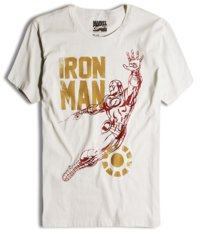 camiseta marvel iron man