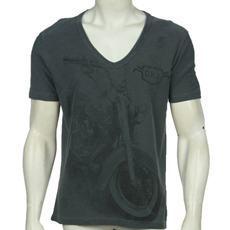 Camisa Calvin Klein Jeans gola V   BAR METROSEXUAL 3f8524aa11