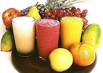 foto de sucos de frutas antioxidantes