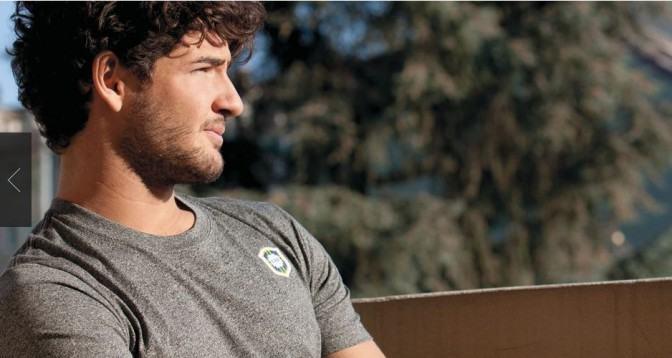 foto de camisa casual da seleção brasileira