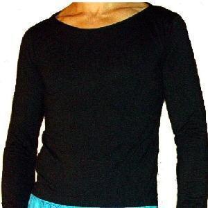 foto camisa gola canoa masculina