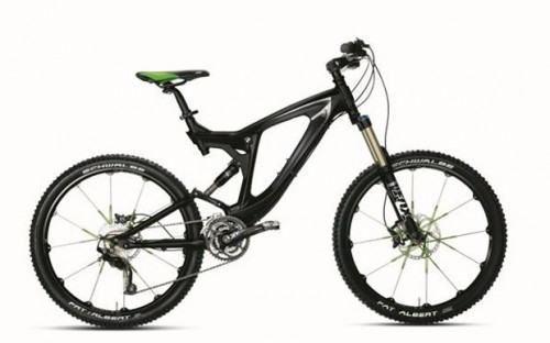 foto bicicleta bmw