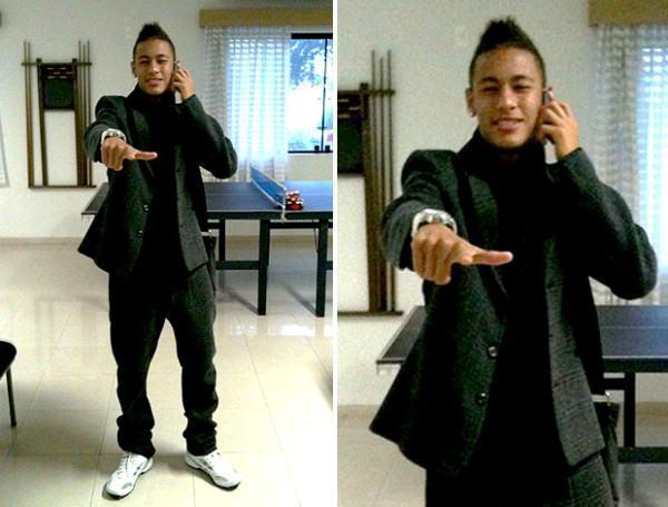 foto roupa do neymar