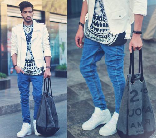 foto jaqueta branca