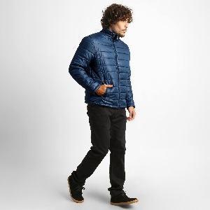 jaqueta nylon masculina gola alta