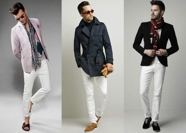 foto calça jeans branca