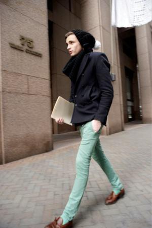 como usar calça verde menta