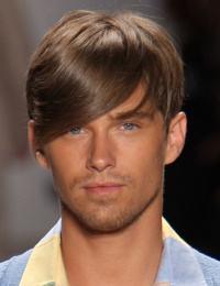 corte cabelo curto franja masculina