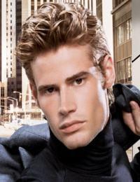 corte cabelo curto ondulado masculino