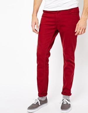 calça masculina justa