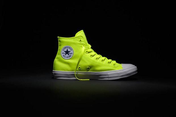 converse tenis all star verde fluorescente
