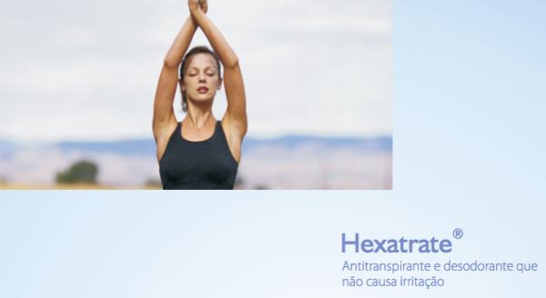 desodorante hexatrate funciona